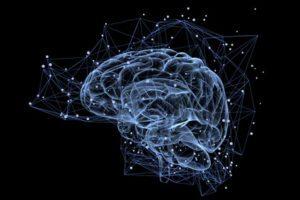 פגיעת ראש טראומטית בה המוח נפגע ומאותת על כאב