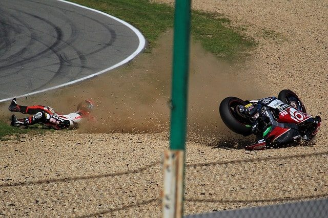 שיקום של רוכב אופנוע לאחר תאונה
